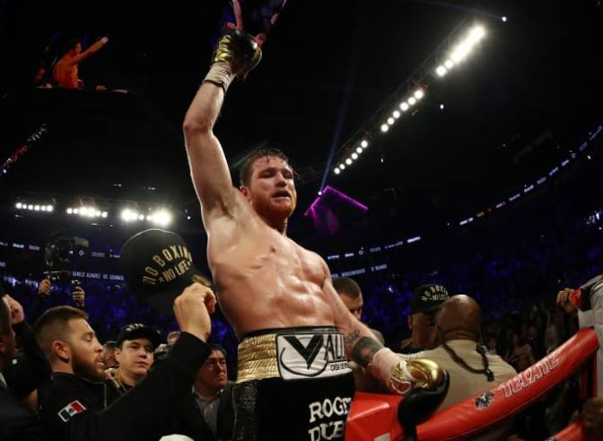 Canelo Alvarez Upsets Gennady Golovkin To Earn Middleweight Titles