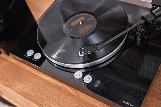 Yamaha's latest turntable streams multi-room audio via WiFi