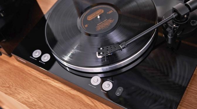 Yamaha's latest turntable streams multi-room audio via WiFi