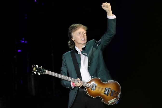 Paul McCartney will play a YouTube concert on September 7th