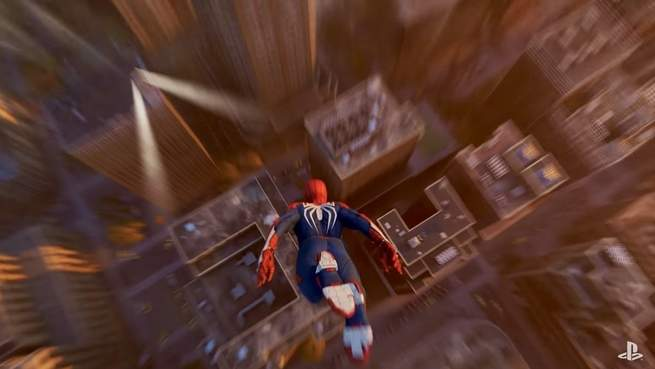 Marvel's Spider-Man PS4 game twists physics to make web-swinging super fun