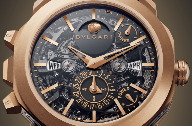 BULGARI INTRODUCES ITS MOST COMPLICATED WATCH EVER