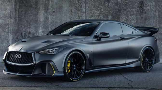 INFINITI PROJECT BLACK S HYBRID IS A STEALTHY ELECTRIC STUNNER