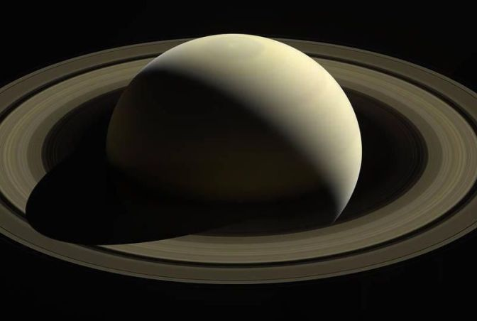 Saturn's Rings Rain Organic Compounds Into Its Atmosphere