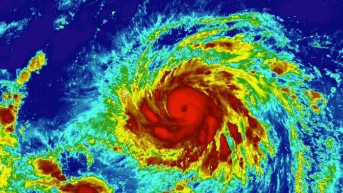 Typhoon Yutu Could Strike Guam as a Category 5 Beast
