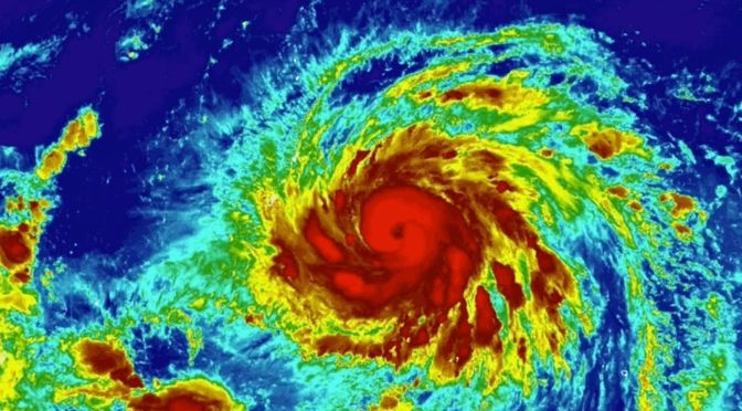 Typhoon Yutu Could Strike Guam as a Category 5 Beast
