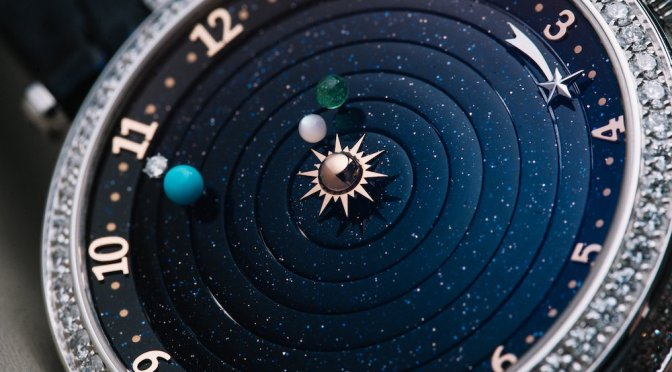 The Intricate Details Of The Van Cleef & Arpels Lady Arpels Planetarium