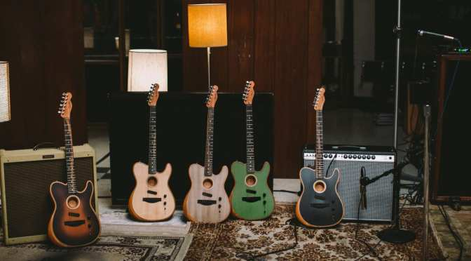 FENDER DEBUTS GROUNDBREAKING ACOUSTIC-ELECTRIC HYBRID GUITAR
