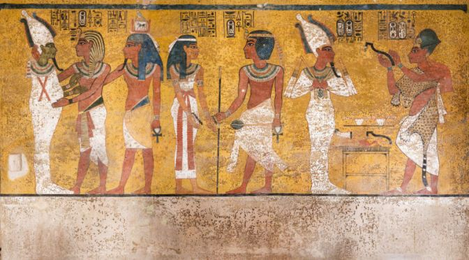 See Inside the Newly Renovated King Tut's Tomb