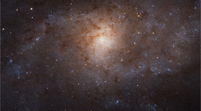 Gaze in Awe at Hubble's Most Detailed View of the Triangulum Galaxy