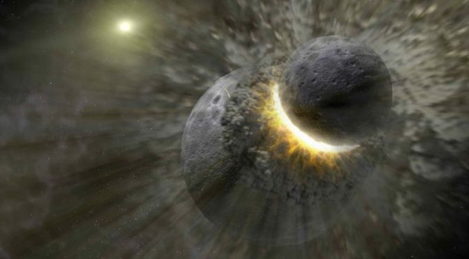 A Collision With Another Planet May Have Seeded Earth With the Ingredients for Life