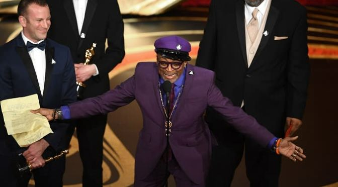 Spike Lee Won His First Non-Honorary Oscar for 'BlacKkKlansman'
