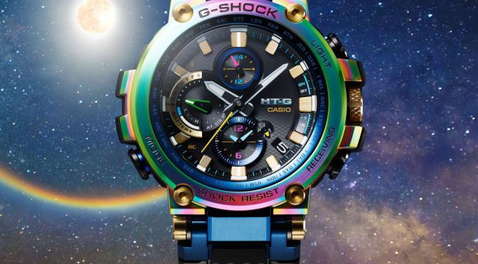 G-SHOCK'S NEW 'LUNAR RAINBOW' WATCH IS OUT OF THIS WORLD