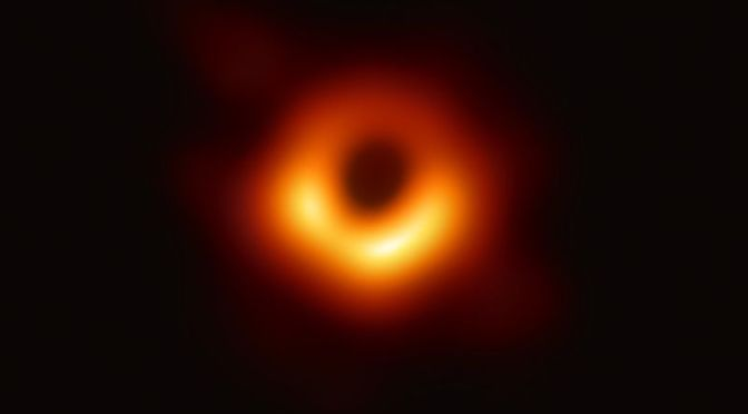 Astronomers Capture First-Ever Image of a Supermassive Black Hole