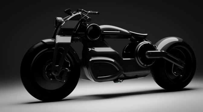 THIS JET BLACK ELECTRIC BOBBER BIKE DOES 0-60 MPH IN JUST 2 SECONDS