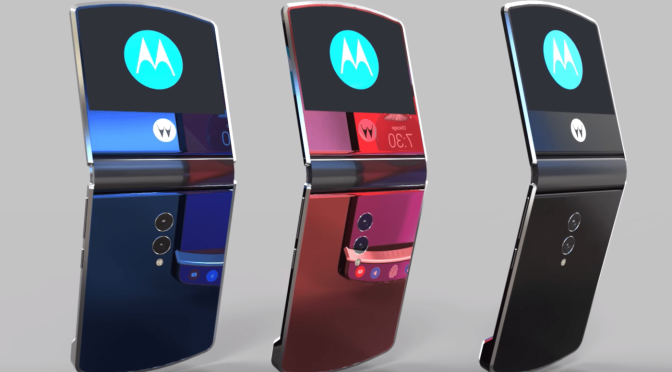 THE ICONIC MOTOROLA RAZR WILL RETURN AS A FOLDABLE SMARTPHONE