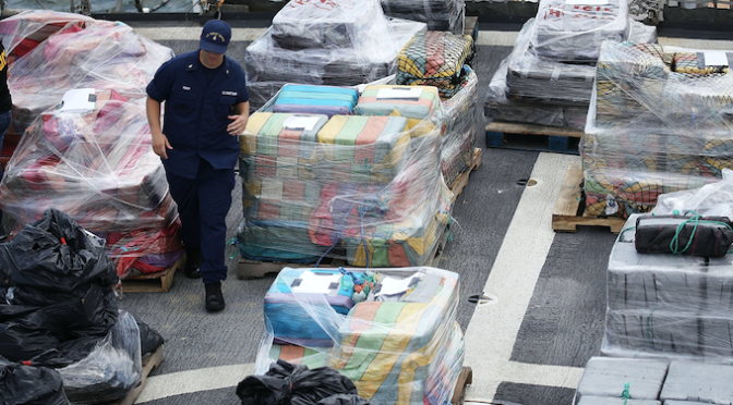 Over 16 Tons of Cocaine Worth $1 Billion Seized at Philadelphia Port