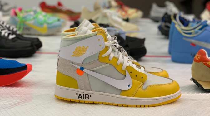 Virgil Abloh Is Displaying Off-White x Nike Samples at MCA Chicago