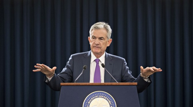THE FED CHAIR SAYS FACEBOOK'S LIBRA RAISES 'SERIOUS CONCERNS'