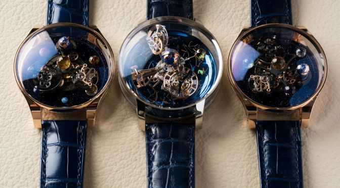 The Horological Universe Of the Jacob & Co Astronomia