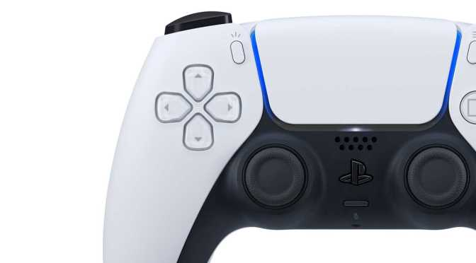 New Wireless Game Controller for PlayStation 5