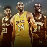 KOBE BRYANT HALL OF FAME CLASS OF 2020 ... With KG, Duncan