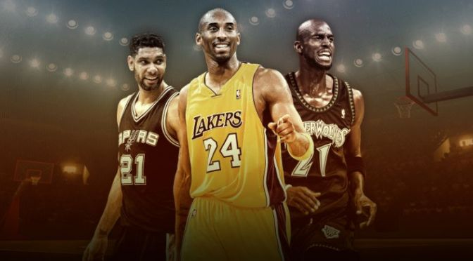 KOBE BRYANT HALL OF FAME CLASS OF 2020 … With KG, Duncan