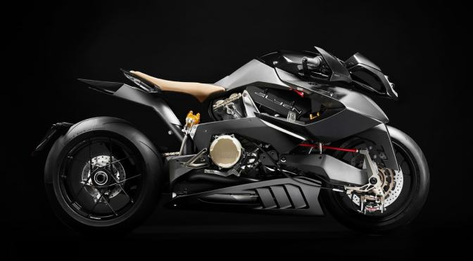THE VYRUS ALYEN IS A 202 HORSEPOWER, DUCATI-POWERED SUPERBIKE
