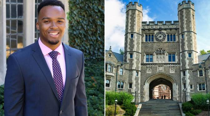 Nicholas Johnson Becomes Princeton University's First Black Valedictorian in 274-Year History