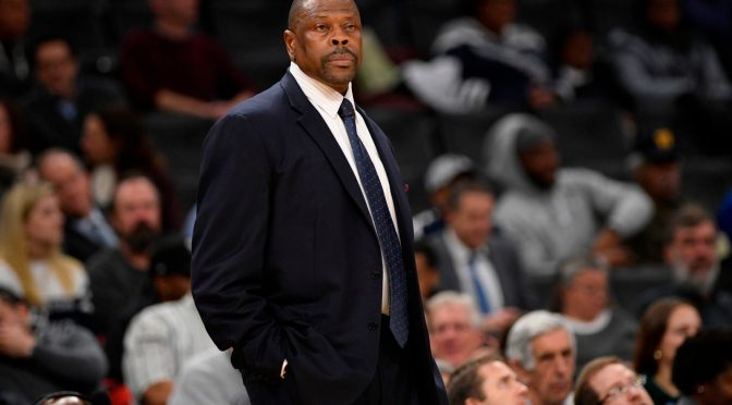 Knicks legend, Georgetown coach Patrick Ewing tests positive for coronavirus