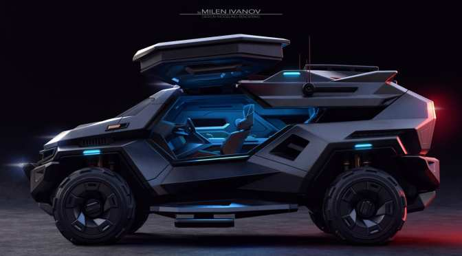 THE ARMORTRUCK SUV IS AN APOCALYPSE-READY SUPERTRUCK
