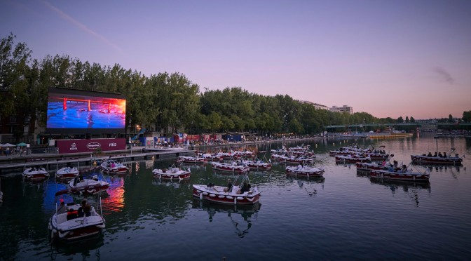 Floating Cinemas Using Socially Distanced Boats Coming to Various U.S. Cities