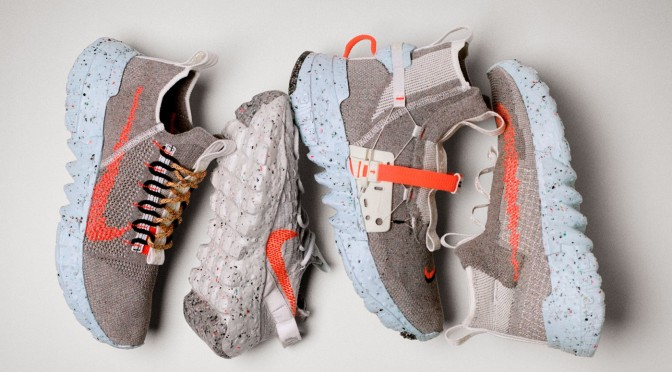 Nike's Sustainable Space Hippie Shoes Aim for One Giant Leap