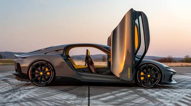MEET THE KOENIGSEGG GEMERA, THE WORLD'S FIRST 'MEGA-GT