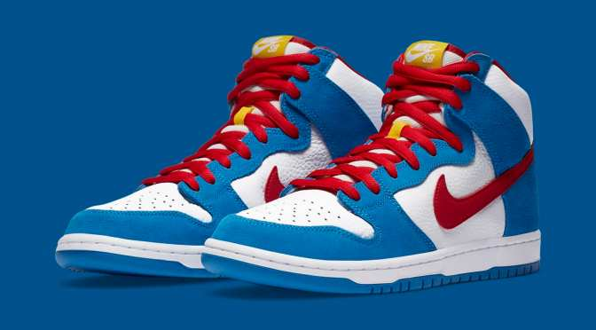 Japanese Cartoon 'Doraemon' Inspires Upcoming Nike SB Dunk High