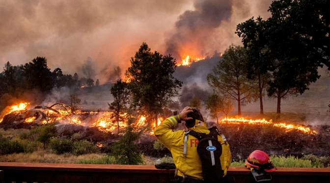 August Complex Fire Is Now Largest in California History