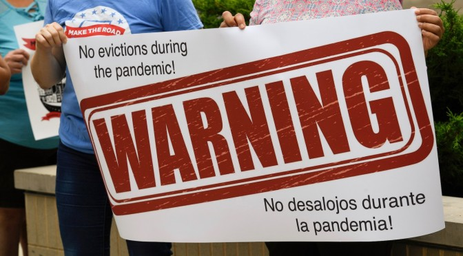 U.S. Orders Halt on Evictions Through 2020 Due to COVID-19 Pandemic