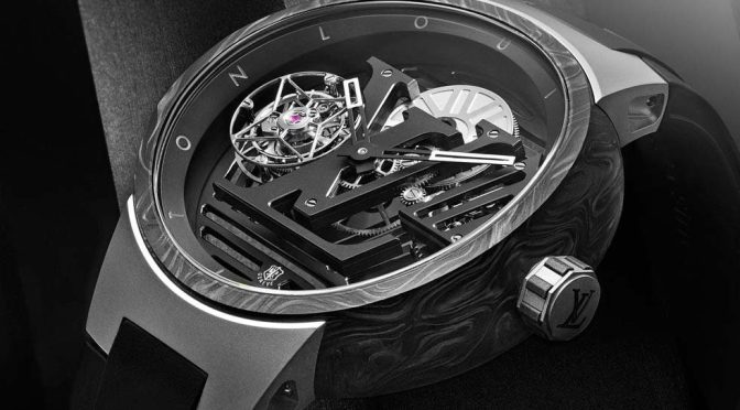 Louis Vuitton Is Continuing A Saga In Excellence With The Tambour Curve Flying Tourbillon