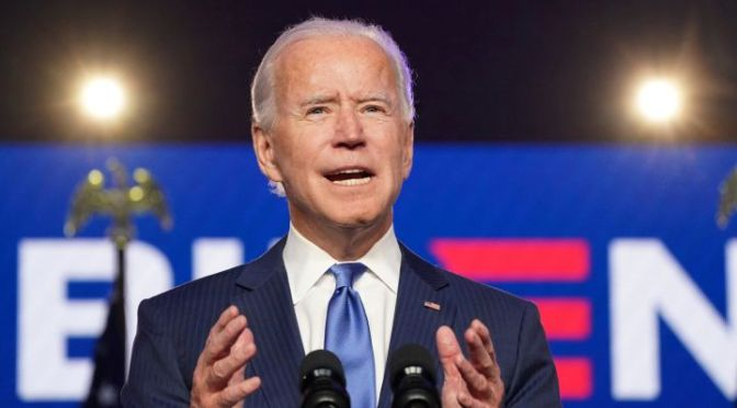 Biden defeats Trump in an election he made about character of the nation and the President
