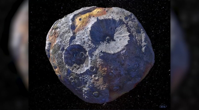 Rare asteroid discovered with an estimated value of $10 quintillion