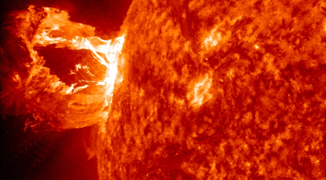 Solar Flare to Likely Cause Geomagnetic Storm Over Earth