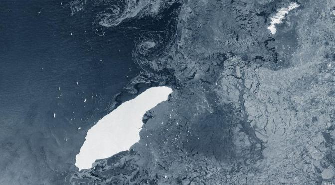 World's Largest Iceberg Now Ominously Close to Sensitive Island