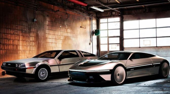 Back to the Present? A Car Designer Just Gave the DeLorean DMC-12 a Modern Makeover
