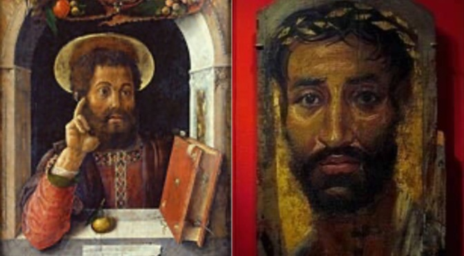 St. Mark, the writer of the Gospel of Mark book in the New Testament was an African from Libya