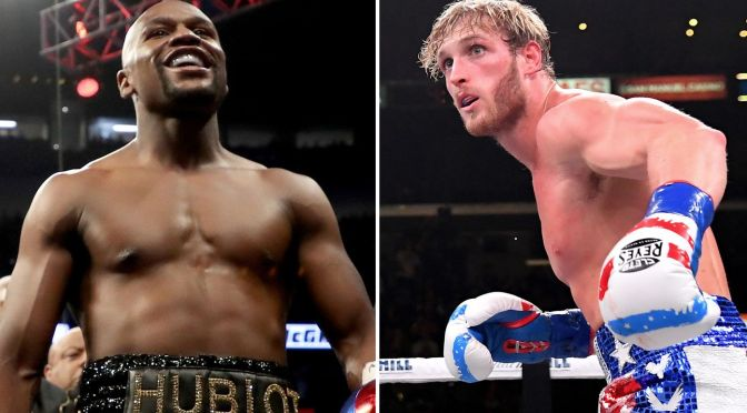 FLOYD MAYWEATHER ANNOUNCES EXHIBITION FIGHT VS. YOUTUBER LOGAN PAUL