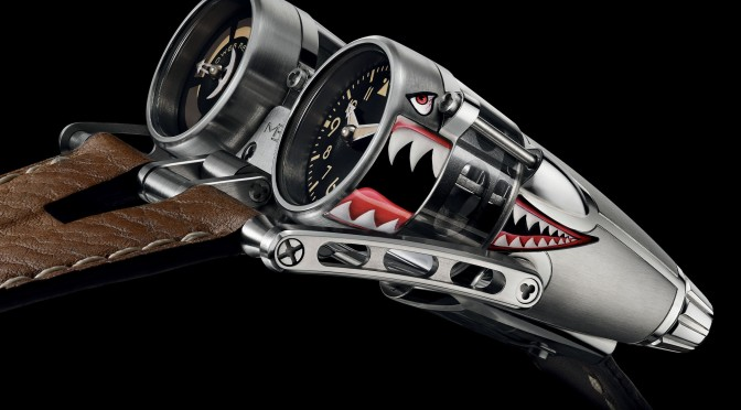 MB&F TAKES FLIGHT WITH FIGHTER JET-INSPIRED 'KITTYHAWK' WATCH