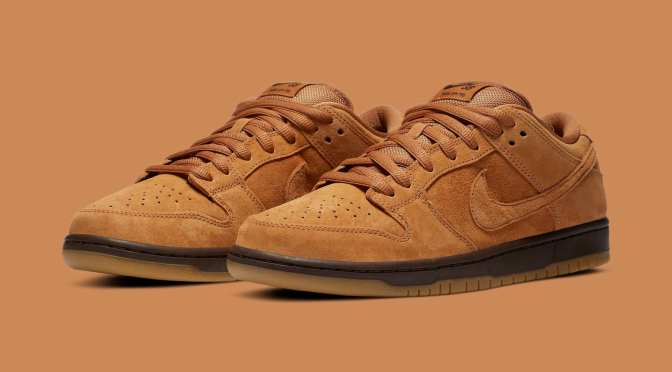 Detailed Look at the 'Wheat Mocha' Nike SB Dunk Low