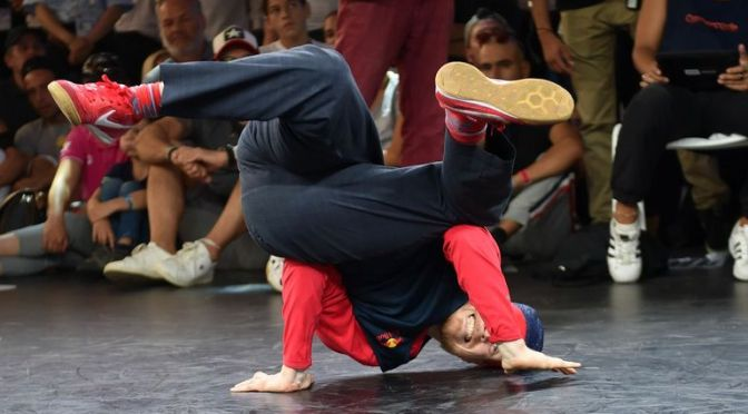 BREAKDANCING WILL BE AN OFFICIAL SPORT IN THE 2024 OLYMPICS