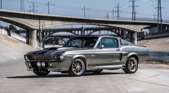 THE 1967 FORD MUSTANG GT500 'ELEANOR' FROM 'GONE IN 60 SECONDS' IS FOR SALE