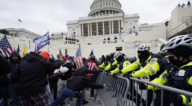 FBI Issues Warning of Armed Protests at 50 State Capitols
